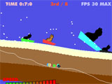 Cat Sledding Physics Game Download
